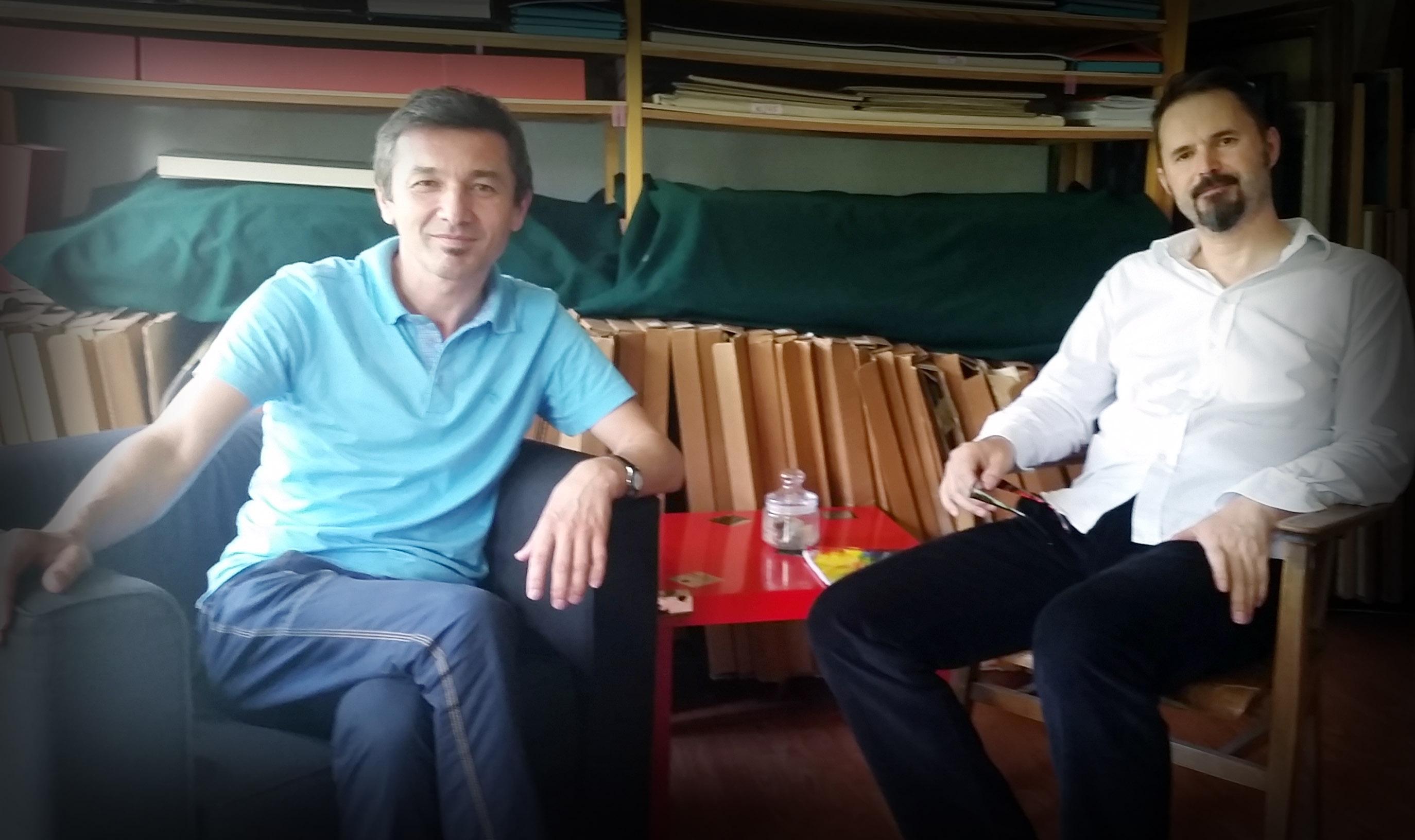 Ivan Vukoja i Aleksandar Battista Ilić